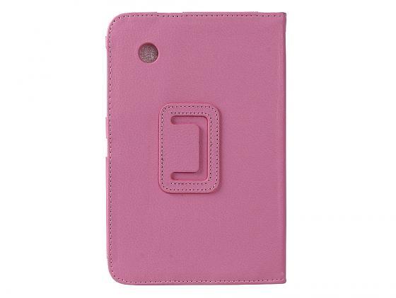 Чехол IT BAGGAGE для планшета Samsung Galaxy tab 7 P3100/P3110 искусственная кожа розовый ITSSGT7202-3