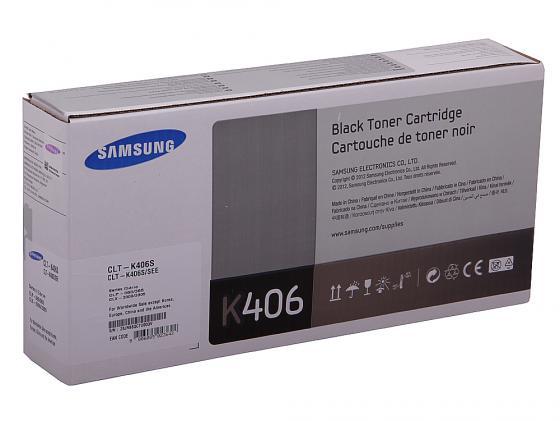 Картридж Samsung CLT-K406S для CLP-360 365 365W Black Черный