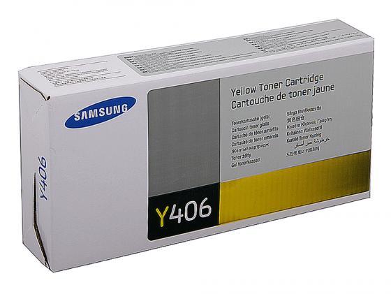 Картридж Samsung CLT-Y406S для CLP-360 365 365W Yellow Желтый