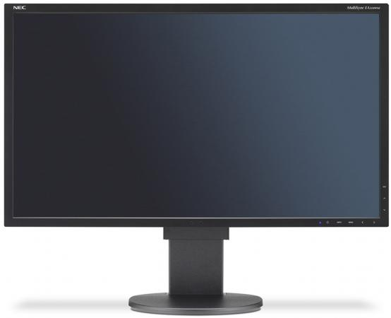 Монитор 22 NEC EA224WMi черный IPS 1920x1080 250 cd/m^2 14 ms VGA DVI HDMI DisplayPort Аудио USB монитор 21 5 nec ea224wmi