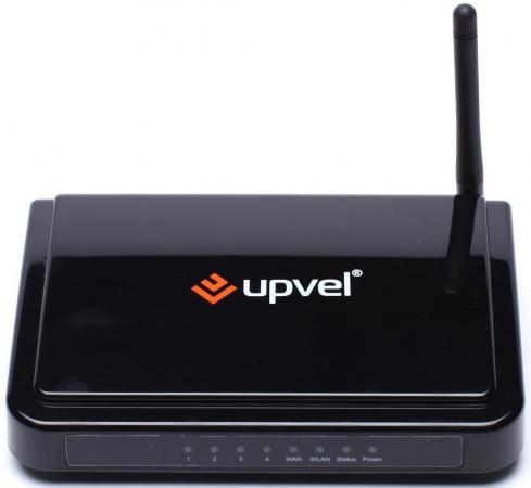 Беспроводной маршрутизатор Upvel UR-315BN 802.11n 150Mbps 2.4ГГц 4xLAN 15dBm беспроводной маршрутизатор upvel ur 825ac 802 11ac 1000mbps 2 4ггц 4xlan 18dbm с поддержкой iptv