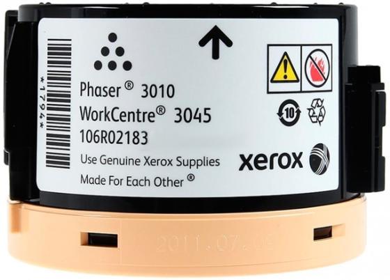 Фото - Картридж Xerox 106R02183 106R02183 106R02183 106R02183 106R02183 106R02183 106R02183 для для Xerox Phaser 3010 3040 WC3045B WC3045NI 2300стр Черный тонер xerox phaser 3010 3040 wc3045 фл 45г black