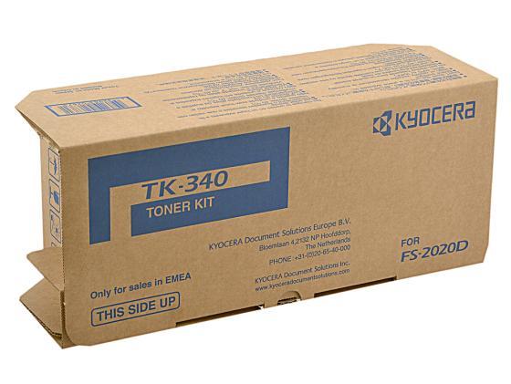 Картридж Kyocera TK-340 для FS-2020DN черный 12000стр картридж kyocera tk 5150k для p6035cdn m6x35cidn черный 12000стр