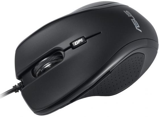 Мышь проводная ASUS UX300 чёрный USB 90-XB2P00MU00000 цена и фото