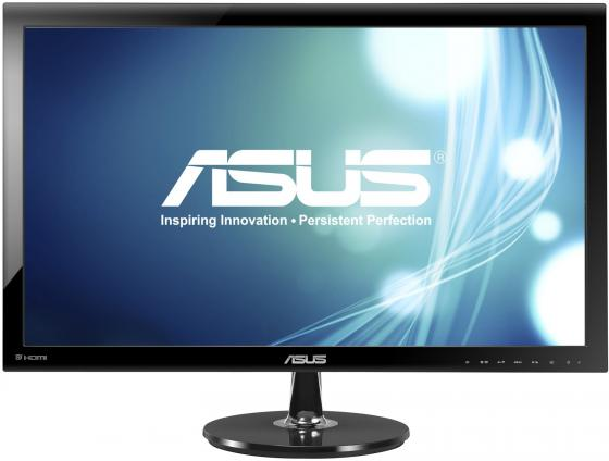 Монитор 27 ASUS VS278Q черный TN 1920x1080 300 cd/m^2 1 ms HDMI DisplayPort VGA Аудио 90LMF6101Q01081C- монитор 27 asus vp278h tn led 1920x1080 1ms vga hdmi