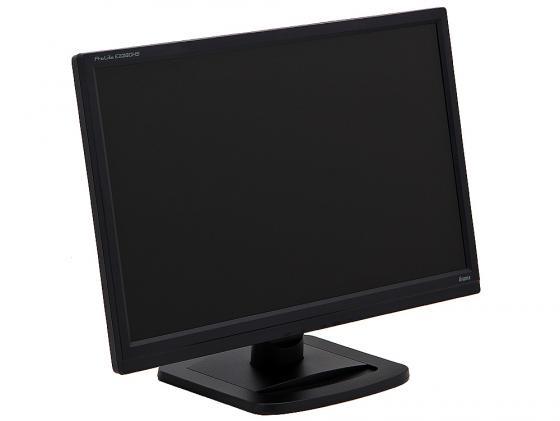 Монитор 22 Iiyama Pro Lite E2280HS-B1 черный TN LED 1920x1080 5000000:1 250cd/m^2 5ms VGA DVI HDMI колонки монитор 22 benq gl2250 tn led 1920x1080 5ms vga dvi
