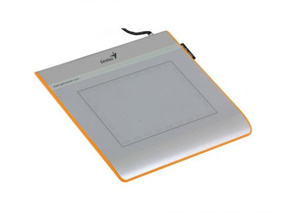 Графический планшет Genius EasyPen i405X 4x5.5 серебристый графический планшет genius easypen i405x