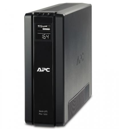 ИБП APC BACK 1500VA BR1500G-RS моноблок hp proone 440 g4 4yv94es 24 fullhd core i5 8500t 8gb 1tb 128gb ssd dvd kb m win10 pro