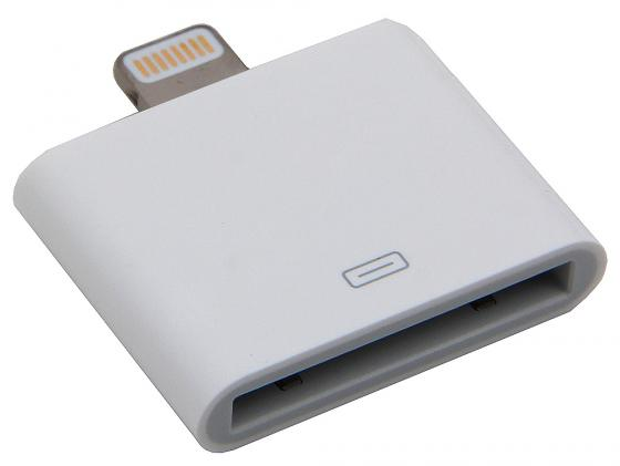 Переходник Apple Lightning to 30-pin Adapter MD823ZM/A переходник apple lightning to 30 pin adapter 0 2m md824zm a