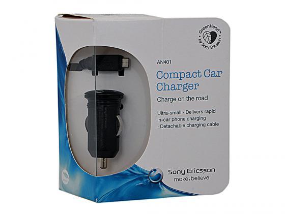 Автомобильное зарядное устройство Sony AN-401 microUSB черный автомобильное зарядное устройство sony an430