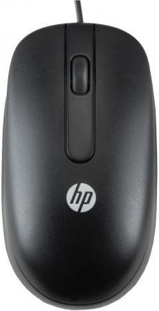 Мышь проводная HP QY778AA чёрный USB MSU-1158 OEM цена