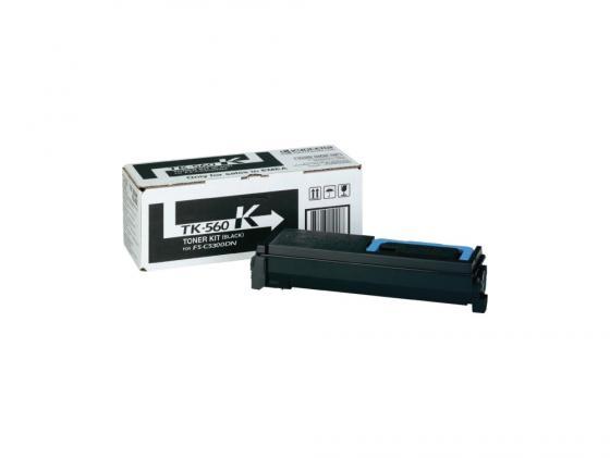 Картридж Kyocera TK-560K для FS C5300 DN черный 12000стр картридж kyocera tk 3100 для kyocera fs 2100d dn черный