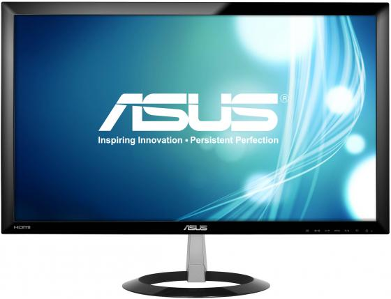Монитор 23 ASUS VX238H черный TFT-TN 1920x1080 250 cd/m^2 1 ms VGA HDMI Аудио монитор 21 5 asus ve228tlb черный tft tn 1920x1080 250 cd m^2 5 ms dvi vga аудио usb