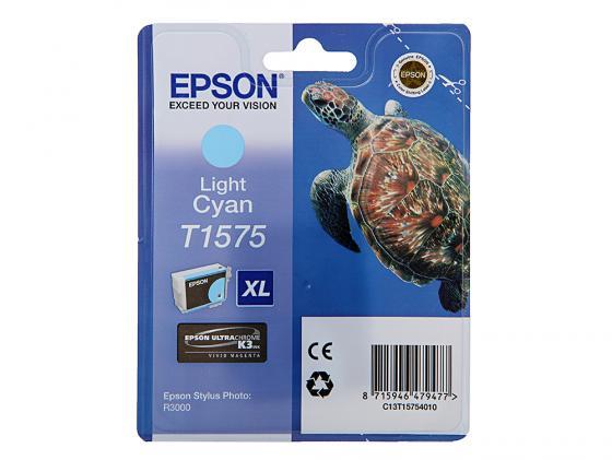 Картридж Epson C13T15754010 для Epson Stylus Photo R3000 светло-голубой original cc03main mainboard main board for epson l455 l550 l551 l555 l558 wf 2520 wf 2530 printer formatter