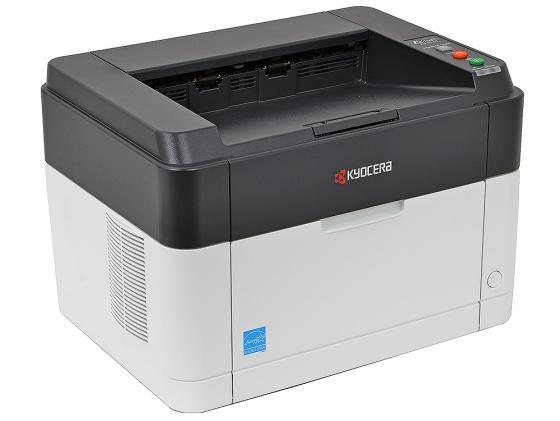 Принтер Kyocera FS-1040 ч/б A4 20ppm 1200dpi USB цена и фото
