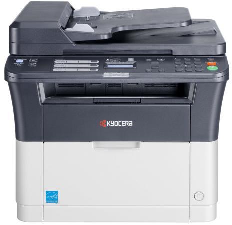 МФУ Kyocera FS-1025MFP ч/б A4 25ppm 1200x1200dpi Duplex автоподатчик Ethernet USB принтер kyocera fs 9530dn 1102g13nl0