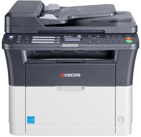 МФУ Kyocera FS-1120MFP ч/б A4 20ppm 1200x1200dpi автоподатчик факс USB мфу kyocera fs 1020mfp ч б a4 20ppm 1800x600dpi usb
