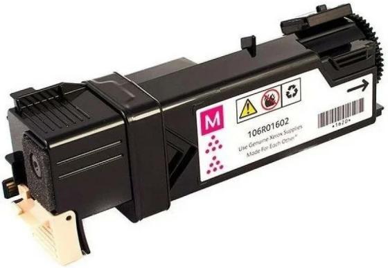Картридж Xerox 106R01602 для Phaser 6500 WC6505 пурпурный картридж colouring cg 106r02183 для rank xerox phaser 3010 40 wc 3045 2300 копий