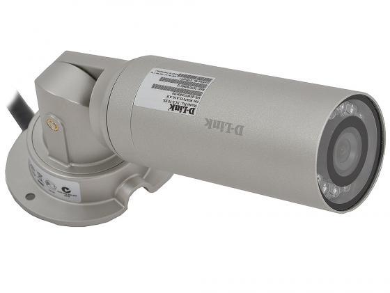 Камера IP D-Link DCS-7010L CMOS 1/4 1280 x 800 H.264 MJPEG MPEG-4 RJ-45 PoE серебристый камера ip d link dcs 3511 upa a1a cmos 1 4 1280 x 800 h 264 mjpeg mpeg 4 rj 45 lan poe белый