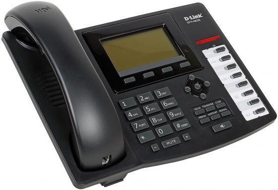 Телефон IP D-Link DPH-400SE 2xLAN SIP LCD display шлюз voip d link dvg 7111s ru b1a 1xfxs rj 11 1xfxo 2xlan wan 10 100mbps sip