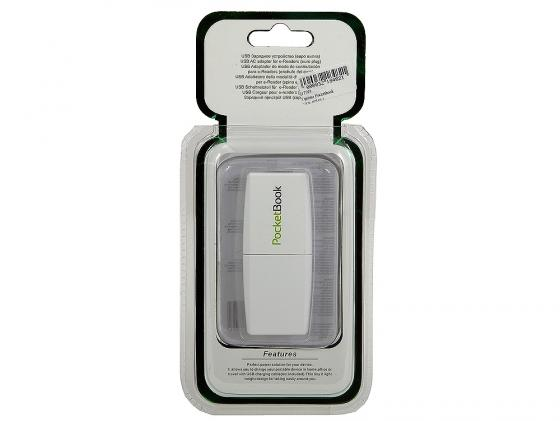 Сетевое зарядное устройство Pocketbook FTR-W510 USB белый pocketbook 301 комфорт в москве