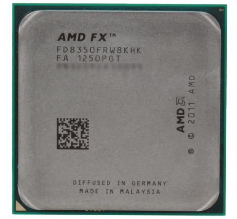 Процессор AMD X8 8350 4.0GHz 16Mb FD8350FRW8KHK Socket AM3+ OEM процессор amd fx x8 8320e fd832ewmhkbox 3 2ghz socket am3 box