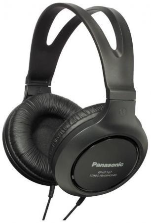 Наушники Panasonic RP-HT161 E-K черный гарнитура panasonic rp ht161 e k