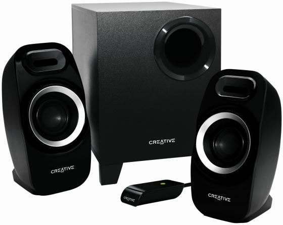 Колонки Creative Inspire T3300 16+2x5.5 Вт черный цена