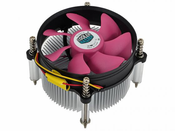 Кулер для процессора Cooler Master PSU A116 DP6-9GDSC-0L-GP Socket 775/1156/1155 brilliant лампа напольная lucie
