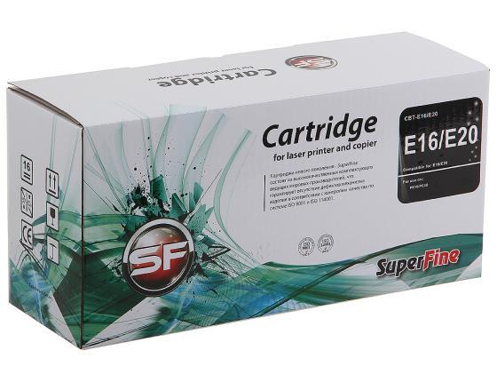 Фото - Картридж SuperFine E-16 для Canon FC-210 220 230 750 2000стр E16/E20 картридж canon 703 для lbp2900 lbp3000 2000стр