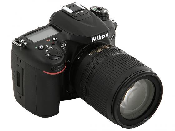 Зеркальная фотокамера Nikon D7100 Kit 18-105 VR 24.7Mp черный nikon d7200 kit 18–105 vr