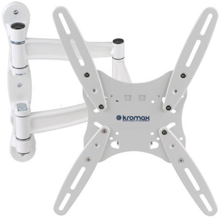 Кронштейн Kromax TECHNO-5 Белый до 55 5 степеней свободы VESA 400х400мм до 35кг techno 5