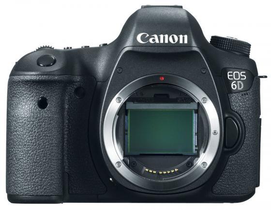 Зеркальная фотокамера Canon EOS 6D Body 20.6Mp черный 8035В004 mk 6d vertical battery grip multi power battery pack holder for canon eos 6d dslr camera replace as bg e13 bge13