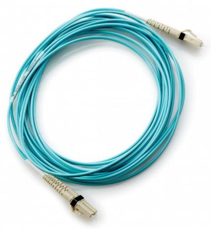 Кабель HP 15m Multi-mode OM3 LC/LC FC Cable (AJ837A) кабель hpe multi mode om3 lc lc fc 2m aj835a