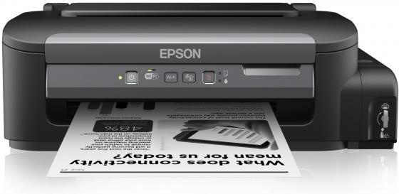 цена на Принтер EPSON Фабрика Печати M105 монохромный A4 34 стр/мин 1140x720 dpi USB WiFi с СНПЧ C11CC85311