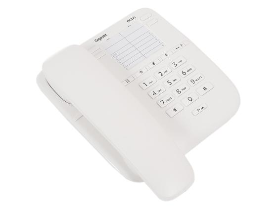 Телефон Gigaset DA310 белый