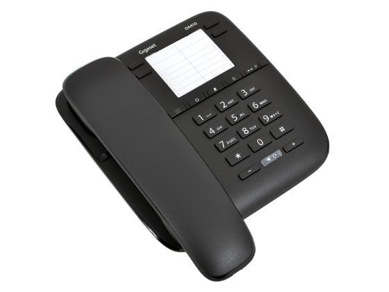 Телефон Gigaset DA410 черный gigaset l410 черный