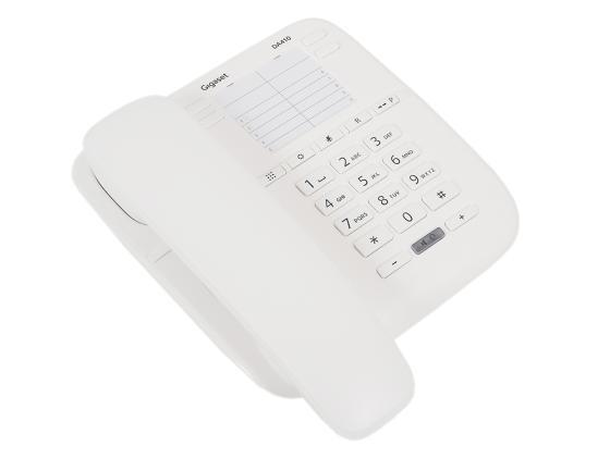 Телефон Gigaset DA410 белый телефон gigaset da310 белый