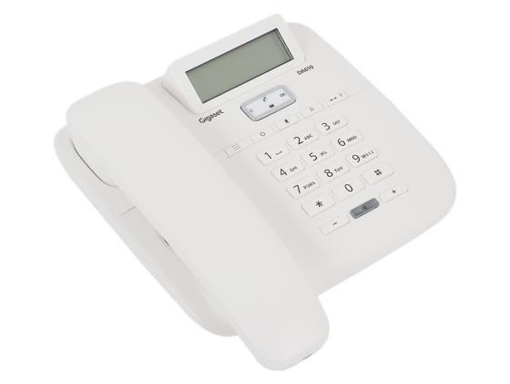 Телефон Gigaset DA610 белый цена и фото