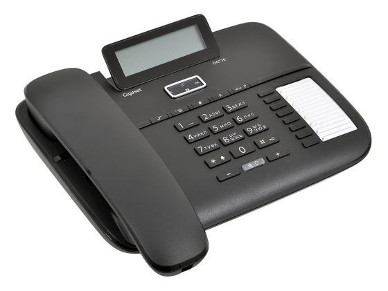 Телефон Gigaset DA710 черный телефон