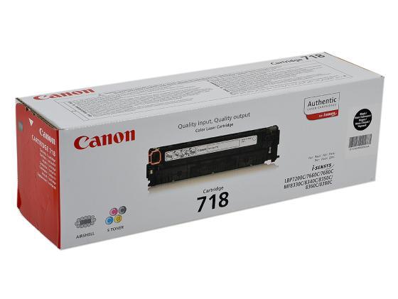 Картридж Canon 718 718 718 718 718 для для Canon MF8330 MF8350 3400стр Черный
