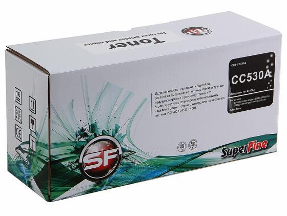 Фото - Картридж SuperFine CC530A для HP CLJ CP2020 CP2025n черный 3500стр CRG718BK картридж superfine cc530a для hp clj cp2020 cp2025n черный 3500стр crg718bk