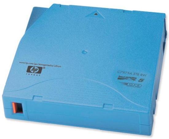Ленточный носитель HP LTO-5 Ultrium 3TB RW Data Cartridge C7975A цена в Москве и Питере