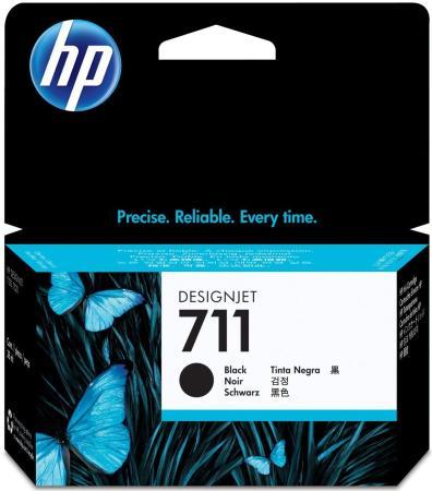 Картридж HP CZ129A N711 для Designjet T120 T520 черный снпч для hp designjet t520