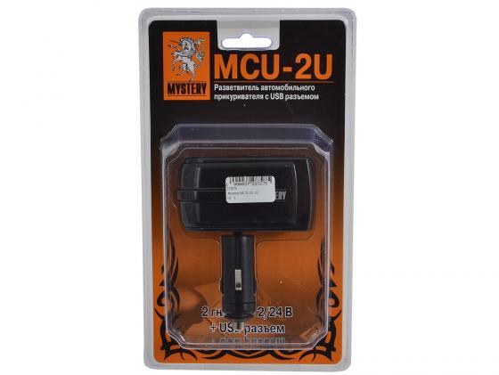 разветвитель-прикуривателя-mystery-mcu-2u-1xusb-выход-и-2-гнезда