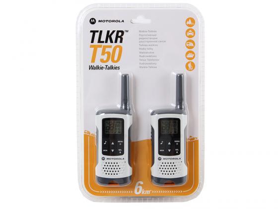 Радиостанция Motorola TLKR-T50 белый/серый