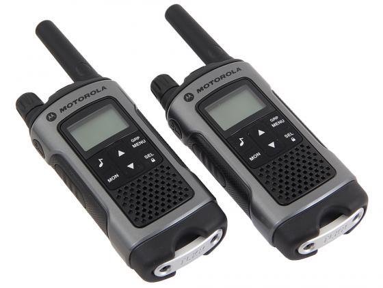Радиостанция Motorola TLKR-T80 серый/черный чехол для рации аргут а 45
