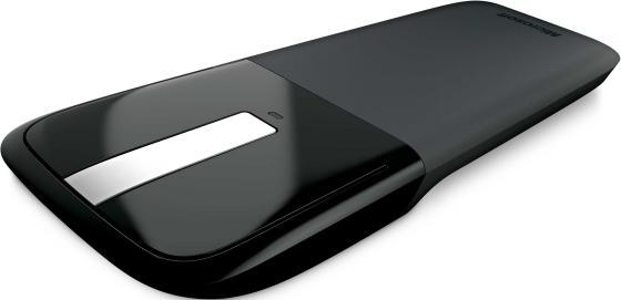 Мышь беспроводная Microsoft Arc Touch Mouse RVF-00056 чёрный USB