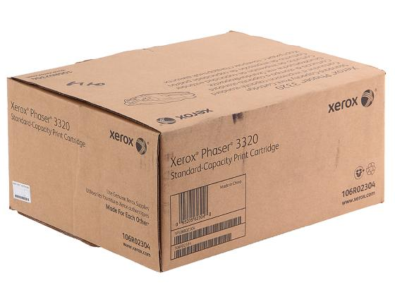 Картридж Xerox 106R02304 для Phaser 3320 5000стр картридж xerox 106r02306 для phaser 3320 чёрный 11000 страниц print cartridge hi cap for ph 3320