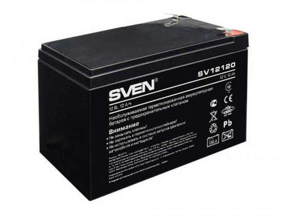 Батарея Sven SV 12120 12V 12Ah батарея sven sv1272 12v 7 2ah